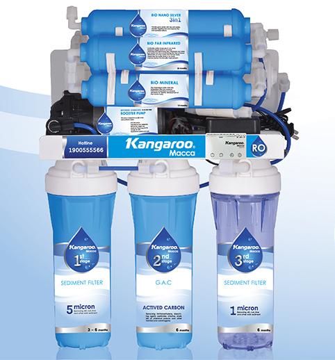 Máy lọc nước Kangaroo Macca KGMC09 không vỏ tủ